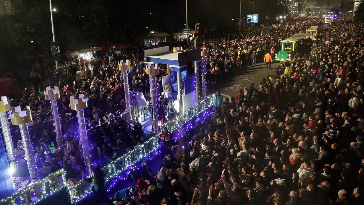 Cabalgata de los Reyes Magos en el 2020.