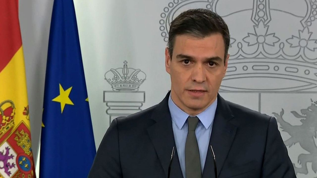 Sánchez amplía el estado de alarma hasta el 9 de mayo.Quim Torra, durante una reunión el viernes por videoconferencia con representantes del sector turístico