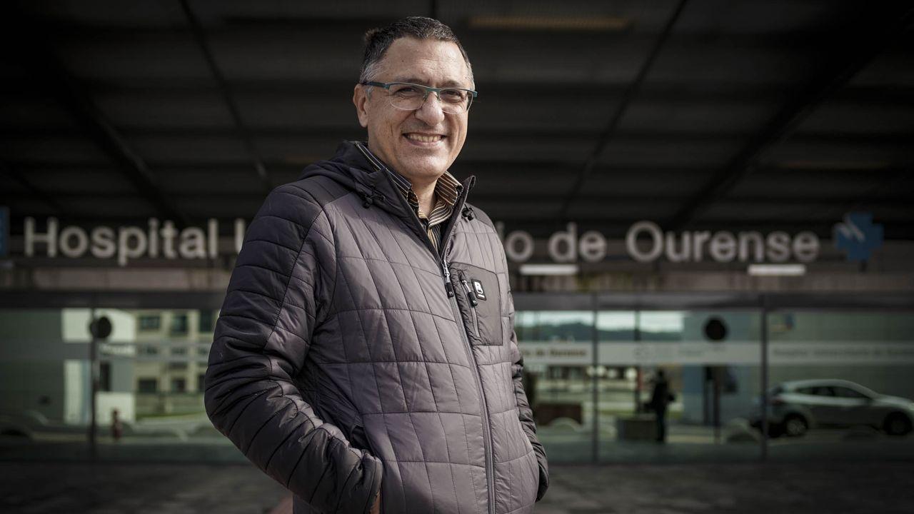 Esteban Sánchez Escuredo, celador en CHUO