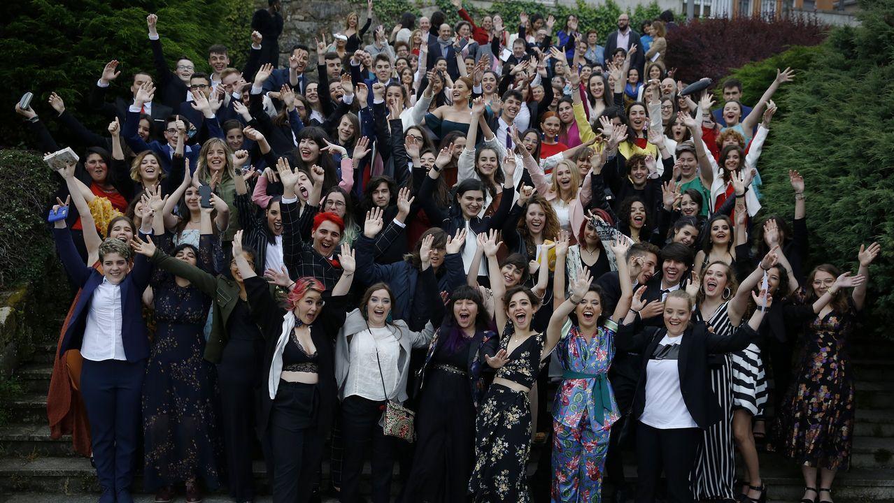 Graduación de los alumnos de Adormideras