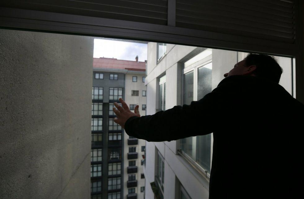 XV Congreso del PP de A Coruña.Los vecinos los edificios de Ribeira Sacra había demandado varias mejoras en los mismos.