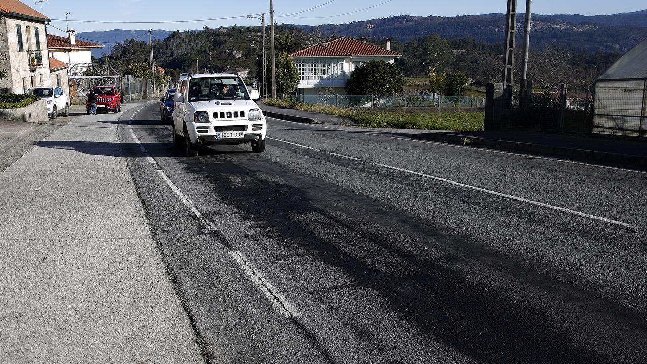 La carretera entre Boiro y Noia también se incluyó en su día en el Plan Move