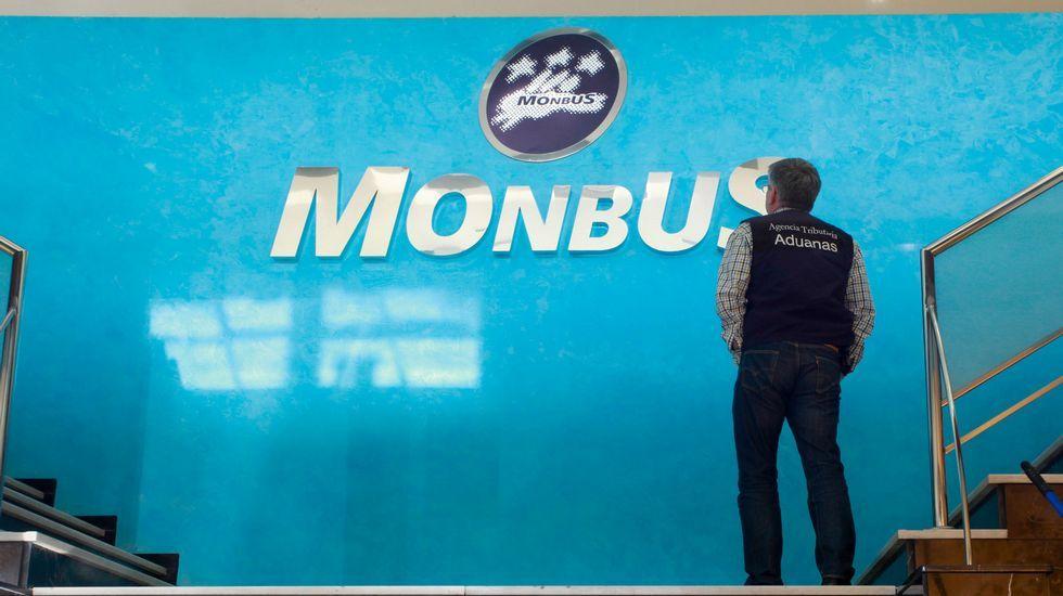 Registros en la sede de Monbús