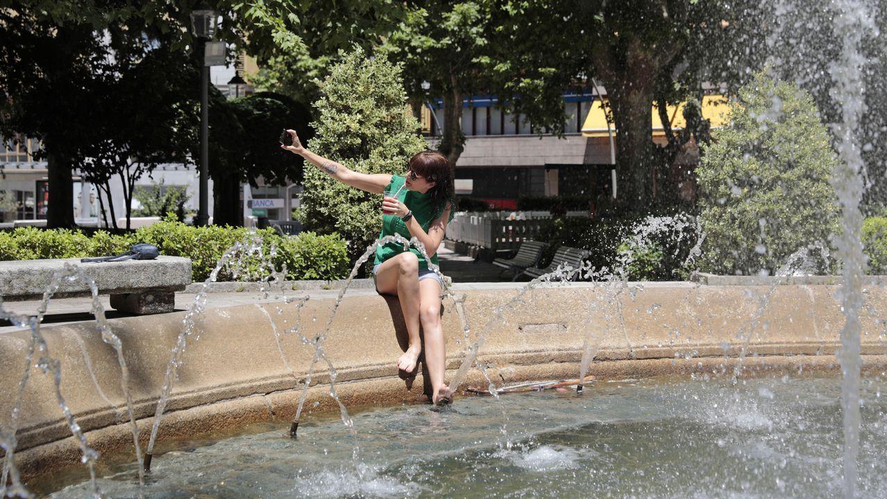 Jornada histórica de calor en Galicia