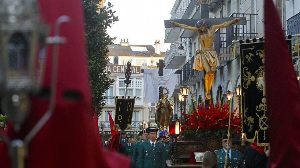 Cristo del Perdón y Virgen de la Piedad, en Lugo