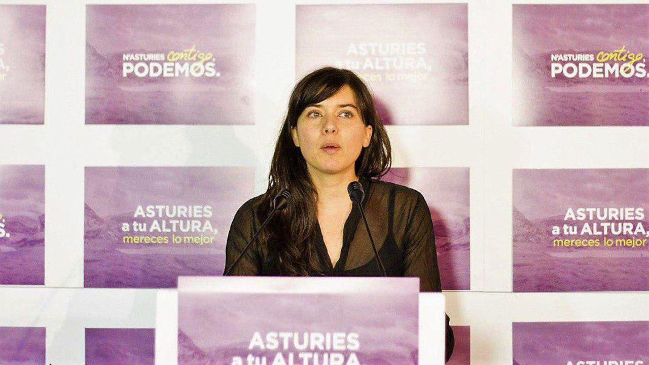 La representante de Podemos-Equo Xixón en el Consejo de Administración de Impulsa y concejala, Laura Tuero