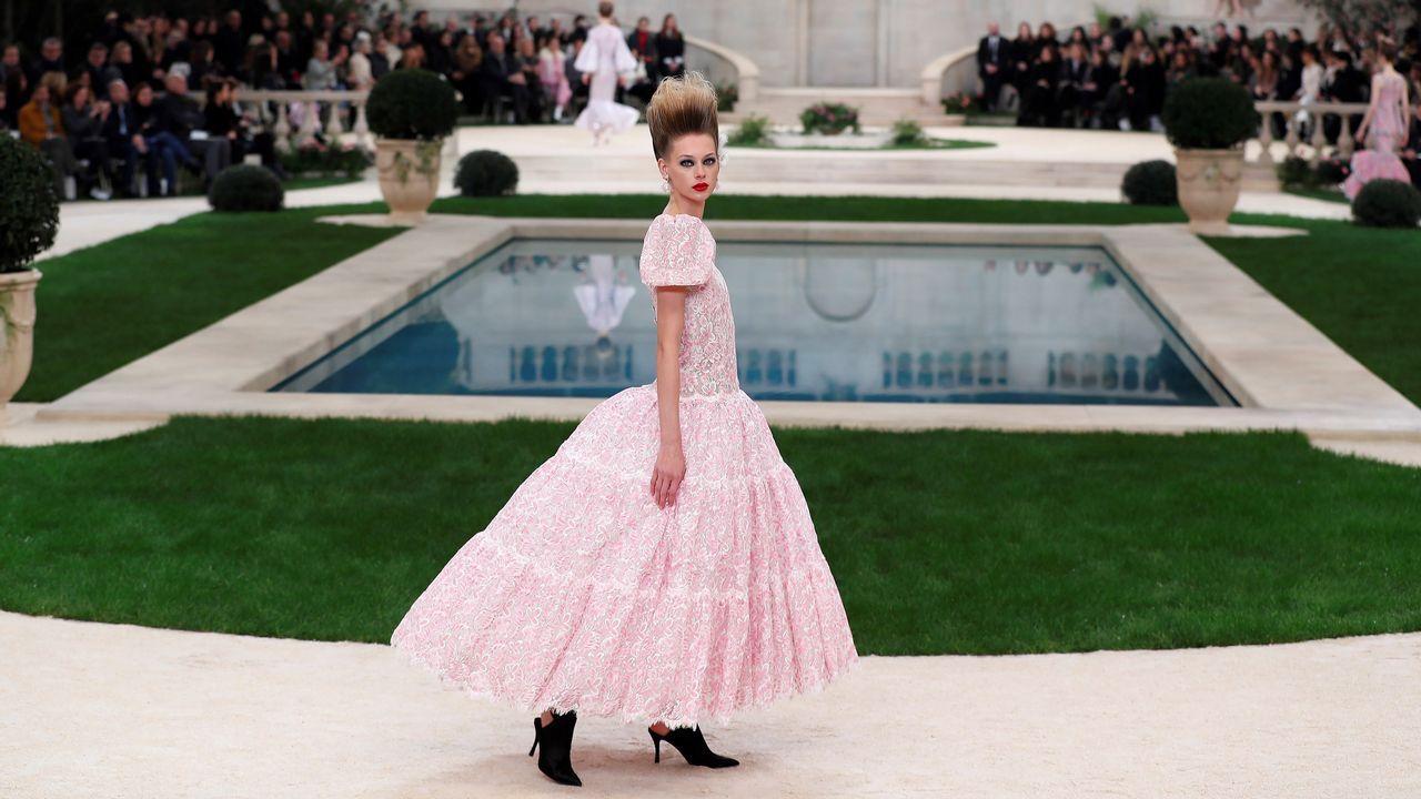 Los últimos diseños de Lagerfeld en el primer desfile de Chanel sin su director artístico.Karl Lagerfeld, en una imagen de archivo