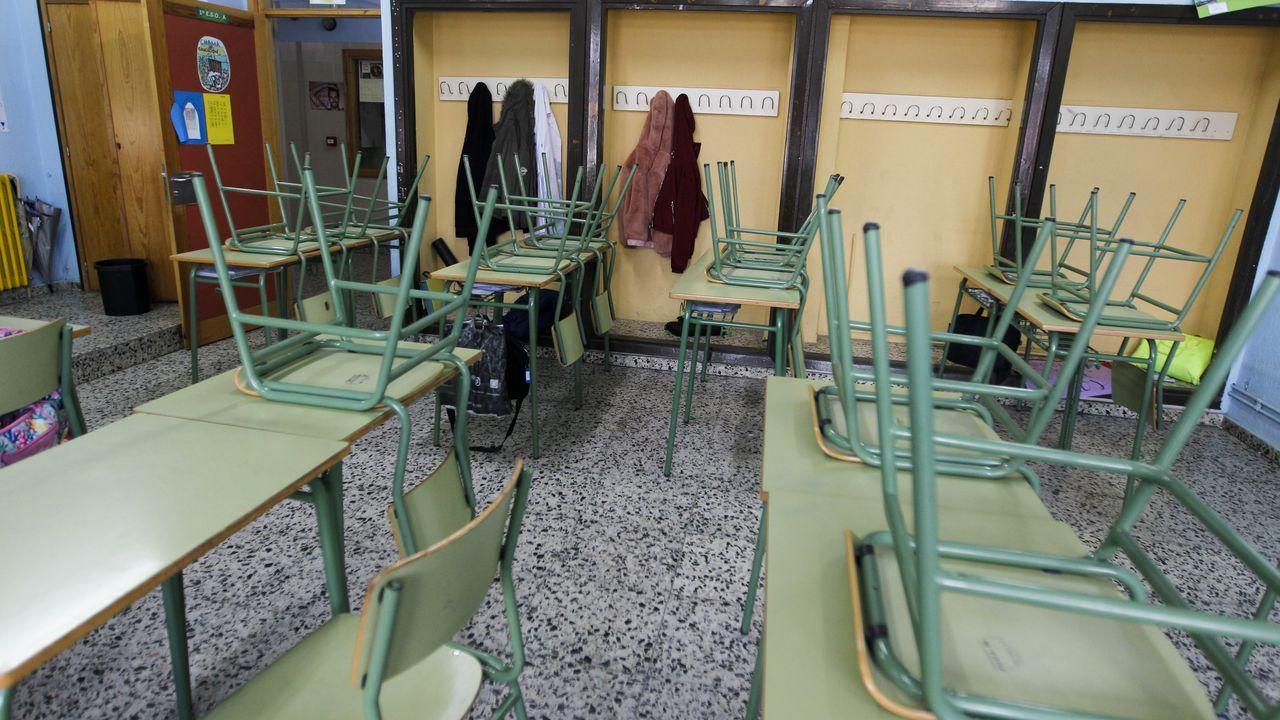 La consejera de Educación del Principado, Carmen Suárez