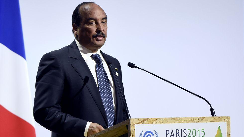 Pixee Fox, una mujer de dibujos animados.Mohamed Ould Abdel Aziz, presidente de Mauritania