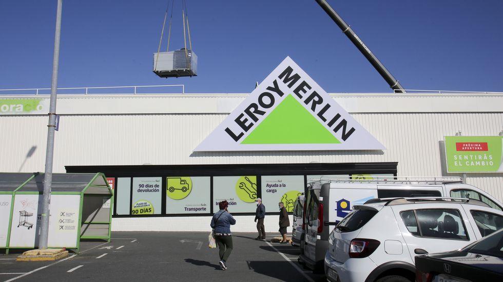 Leroy Merlin abrirá a finales de mayo donde se encontraba el antiguo establecimiento de Aki