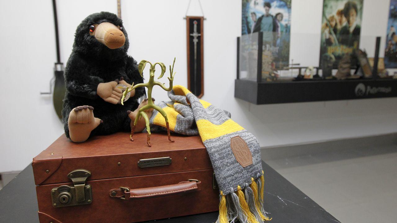 Tintín llega a las paredes de Ferrol Vello.Javier Peña se dedica ahora a la literatura a tiempo completo, como autor e impartiendo talleres