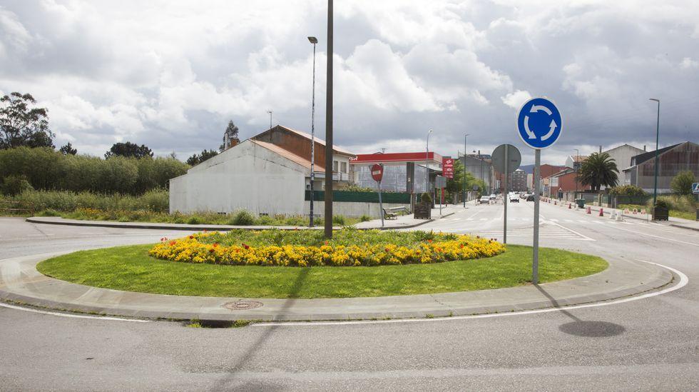 Rotonda en la Avenida de Malpica