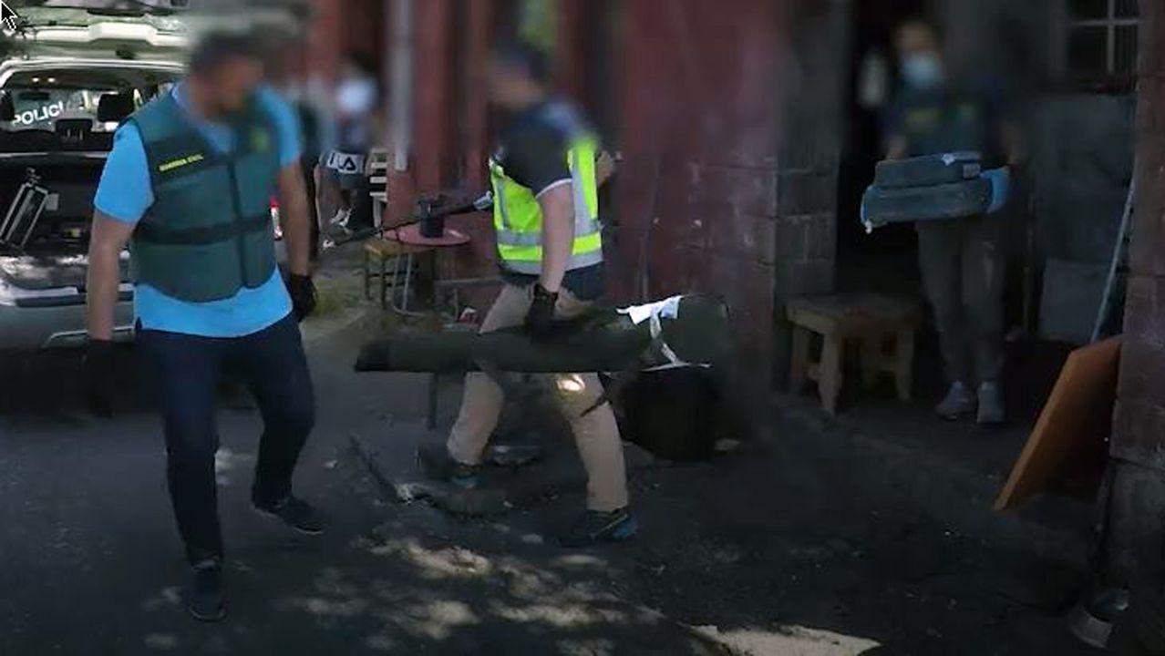 Protestas en el 2019 ante el centro de salud de Foz por la reducción de técnicos de emerxencias en la ambulancia