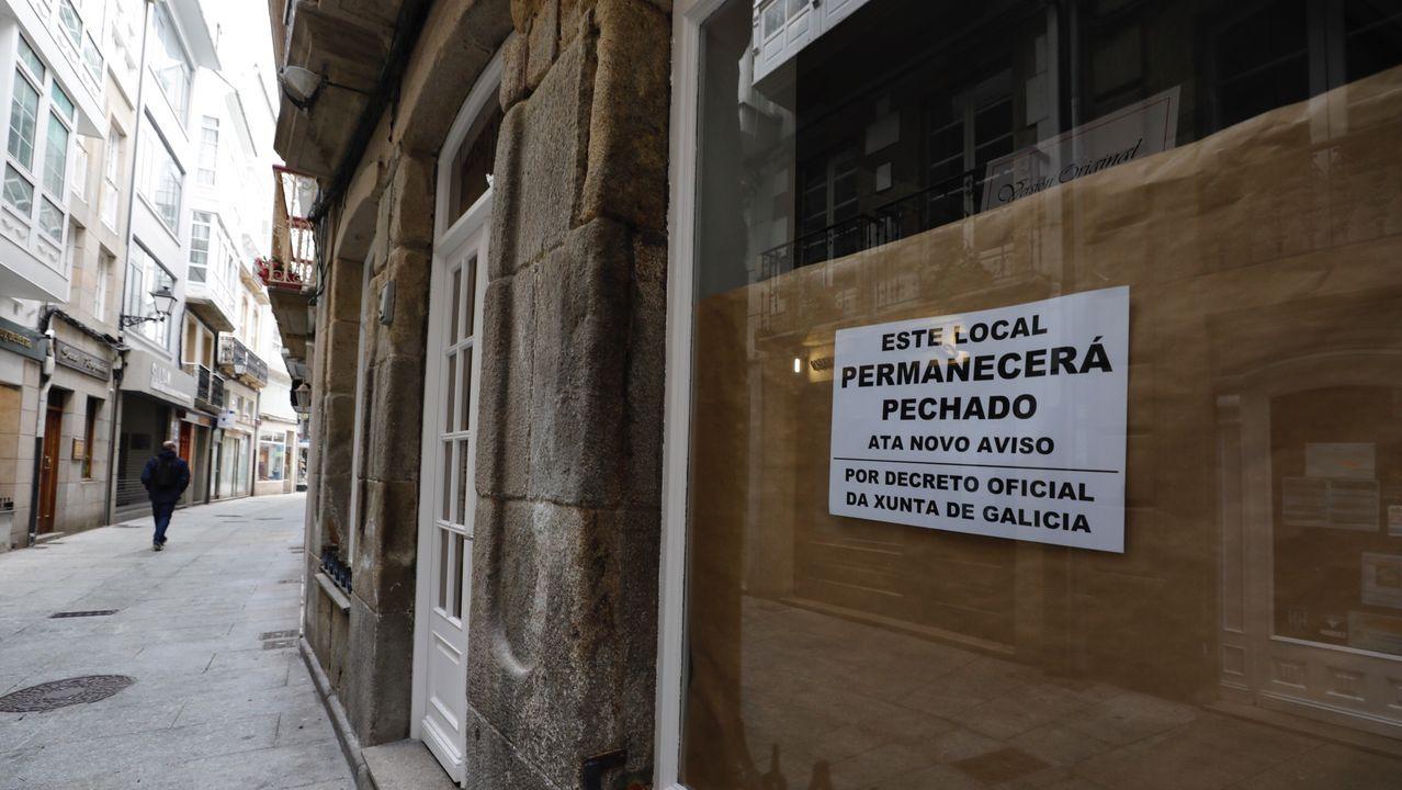 Local cerrado en Viveiro