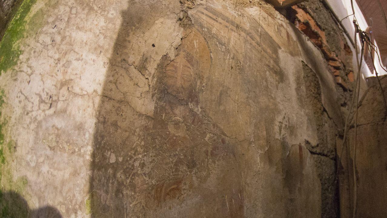 El patrimonio  retornado  de Santiago.Pinturas en la iglesia de San Martiño de Rodis