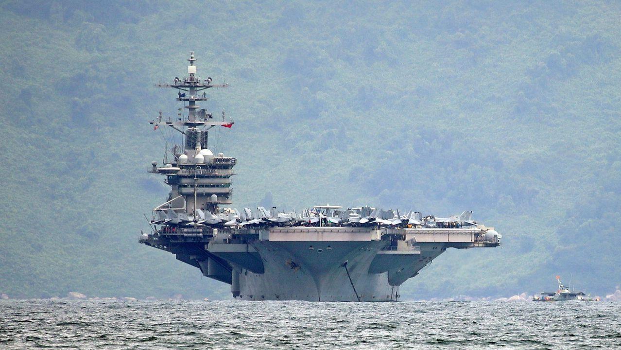 El portaviones nuclear Theodore Roosevelt ha participado en las operaciones militares más importantes de los últimos años
