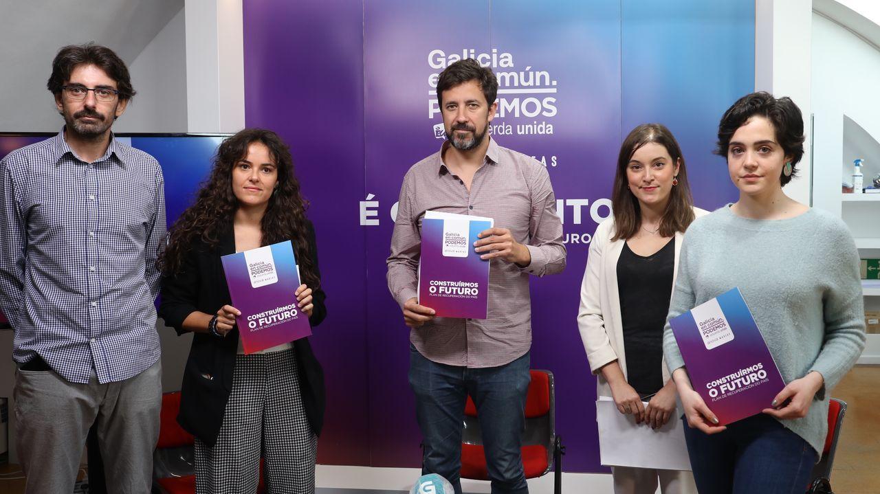 Los diputados del PP en la Junta General Pablo González y Álvaro Queipo