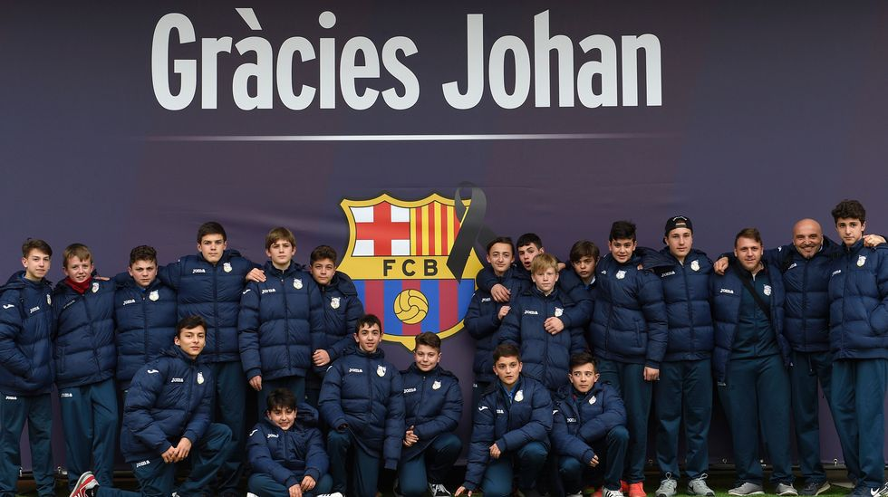Barcelona y Amsterdam rinden tributo a la figura de Johan Cruyff