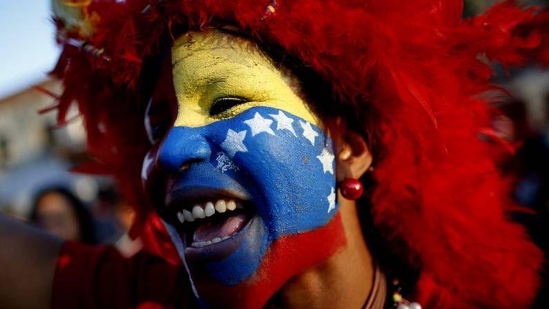 Alegría por Chávez en Caracas