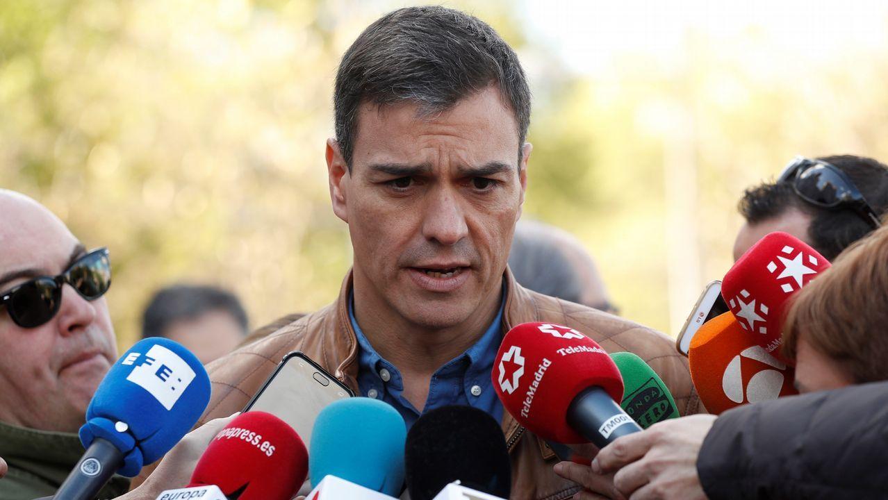 Pedro Sánchez sobre Catalá: «que aclare su acusación y si no, que esté callado»