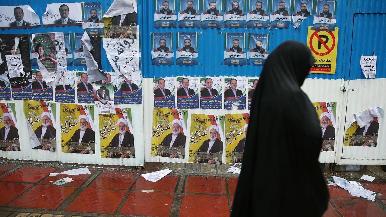 Bronco enfrentamiento en el Congreso entre el Gobierno y la oposición.Los iraníes podrían optar por no acudir a las urnas ante el descontento social y la crisis económica