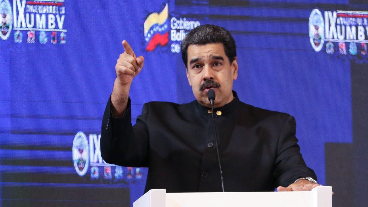 Guaidó: «Espero que la democracia española sea fuerte para hacer frente a la dictadura de Maduro».El exgeneral chavista Hugo Carvajal, en la Audiencia Nacional