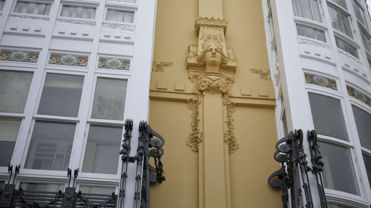 cara.Casa Rey, en la plaza María Pita