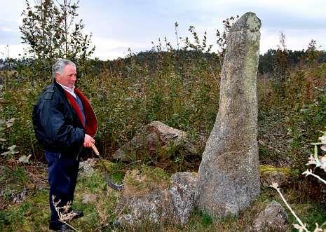 Pedra Fita de los montes de Erboedo.