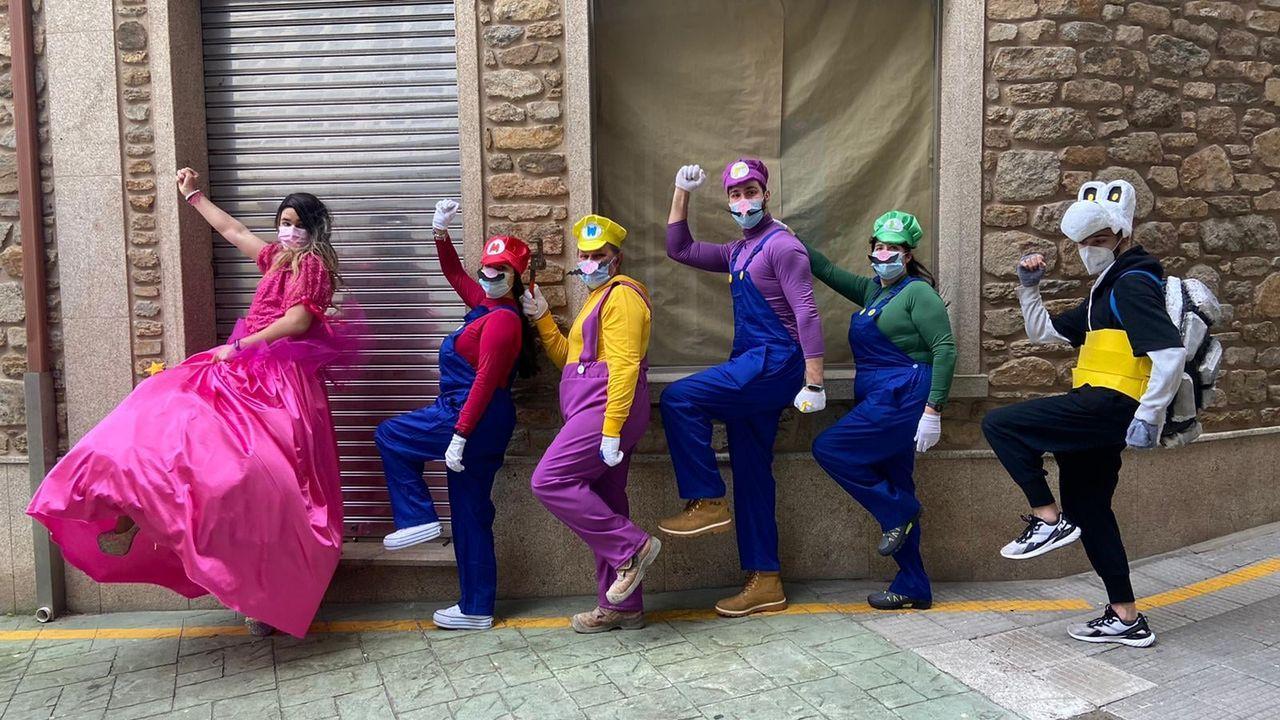 Así se vive el carnaval en Barbanza, a pesar del covid