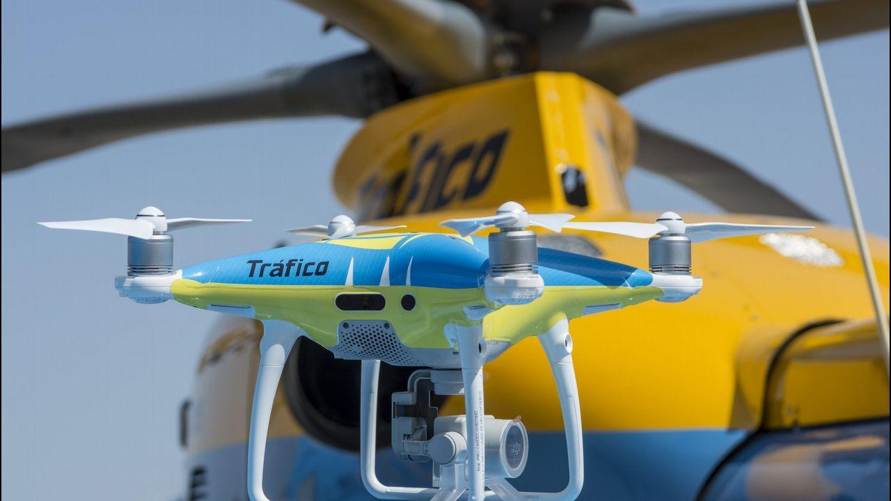 Once drones como el de la foto volarán sobre las carreteras españolas este verano