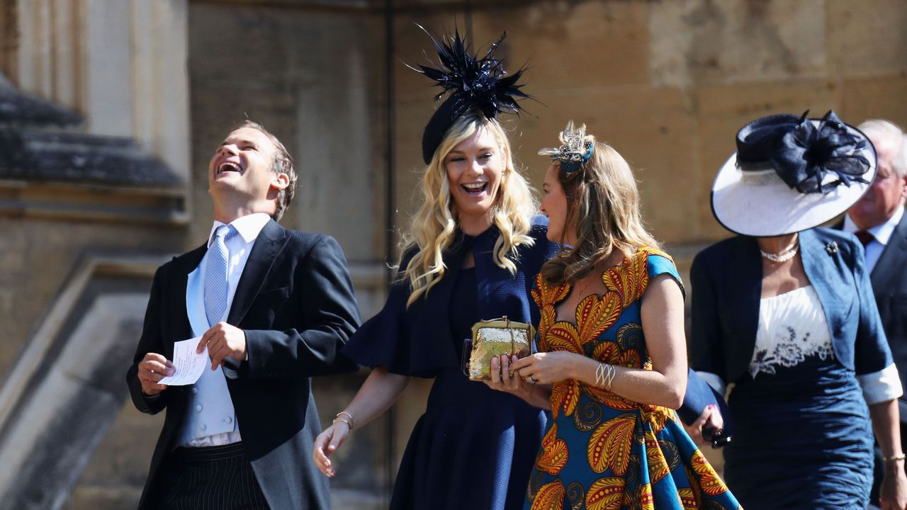 Chalsy Davy, con quien el príncipe mantuvo una relación intermitente durante siete años, ha acudido al enlace