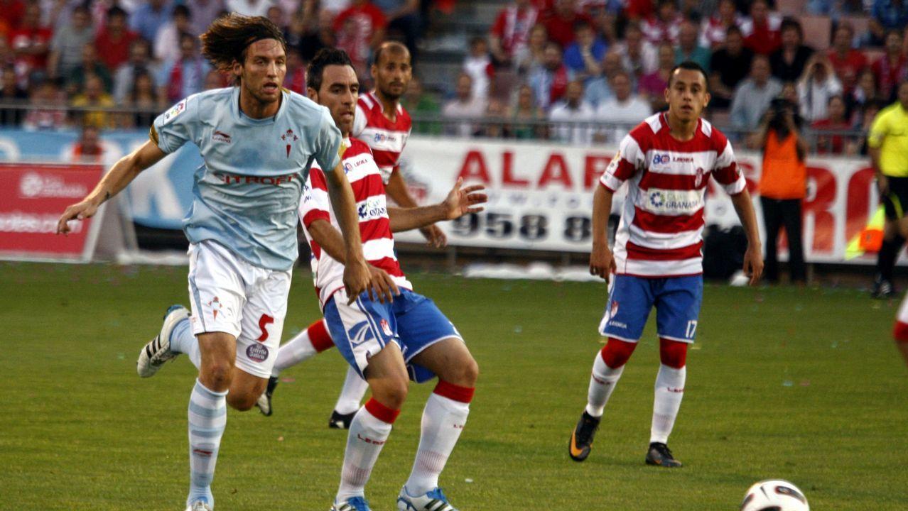 Play off contra el Granada en el 2011