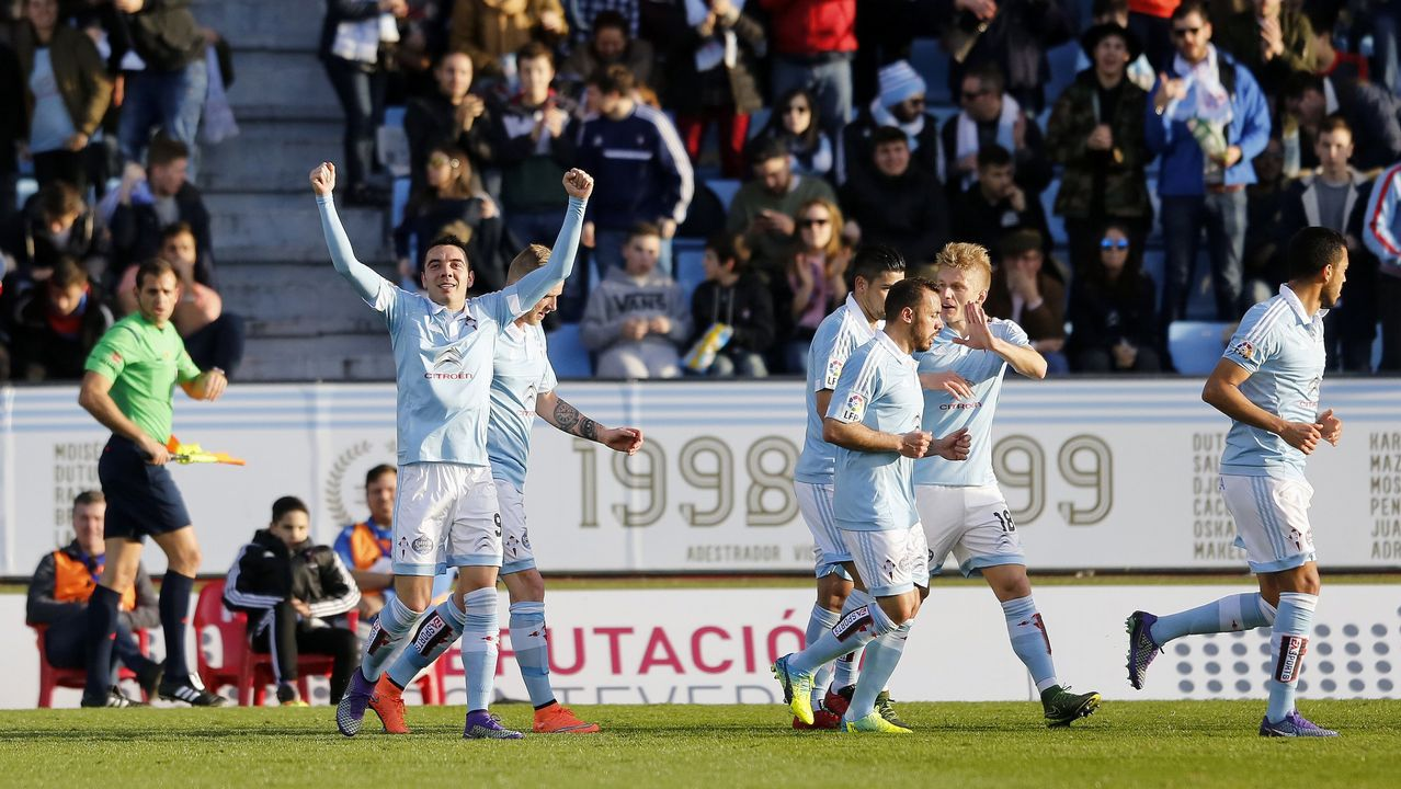 185 - Celta-Real Sociedad (1-0) de Primera el 12 de marzo del 2016