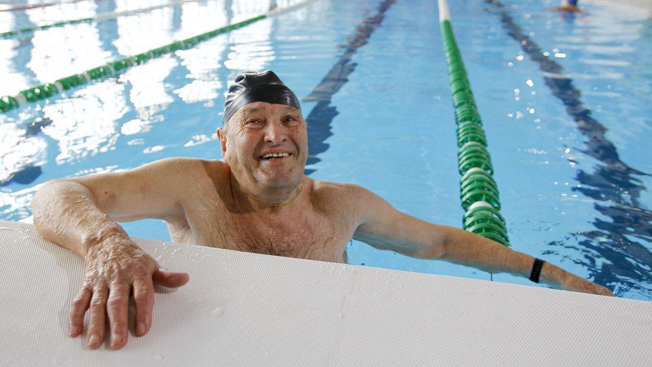 «A los 91 se llega fácil nadando a diario».Ejemplar de zarapito trinador