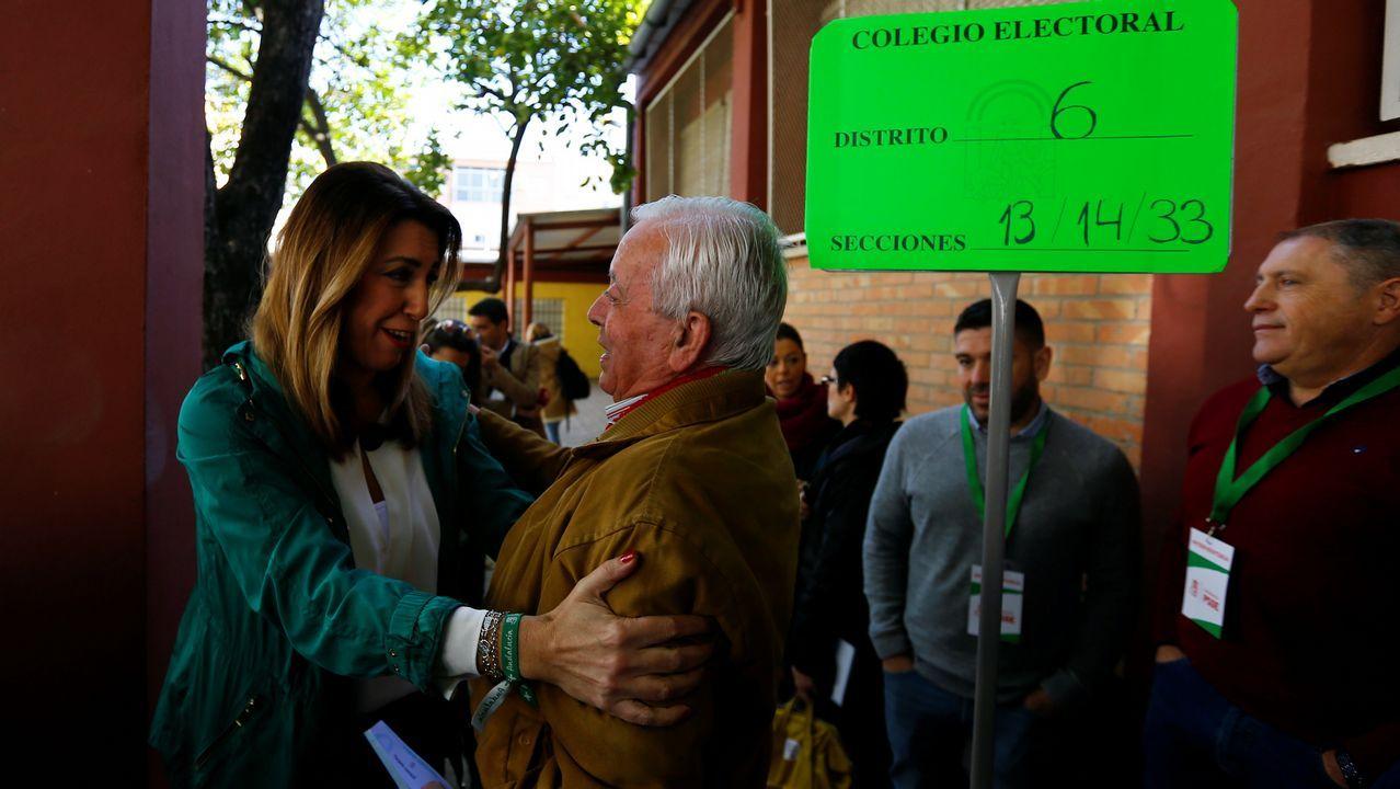 Elecciones en Andalucia.