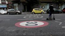 Los 30 km/h mandan en las calles de A Coruña