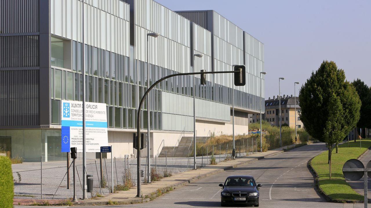 Instalaciones del Colegio Público Cabueñes, en Gijón