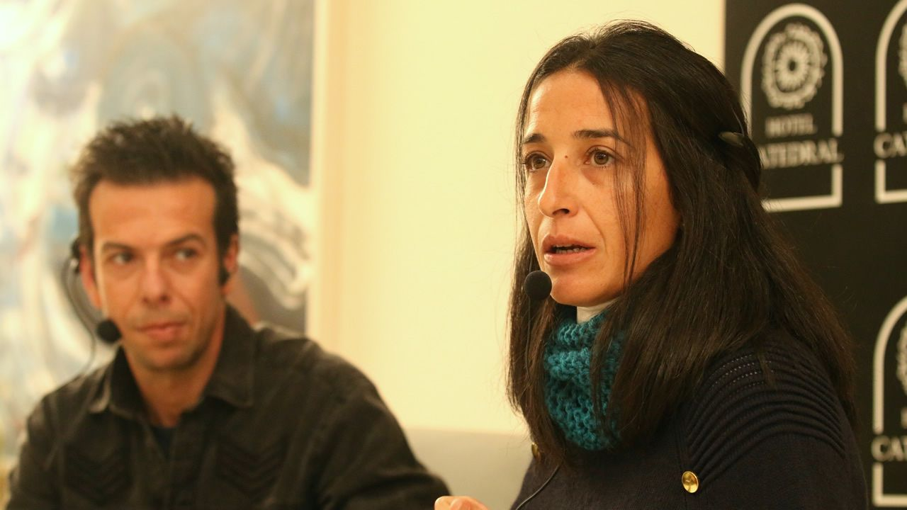 Ana Julia Quezada, en el banquillo.Ana Julia Quezada, la autora confesa de la muerte del niño Gabriel Cruz, a su llegada este lunes a la Audiencia Provincial de Almería