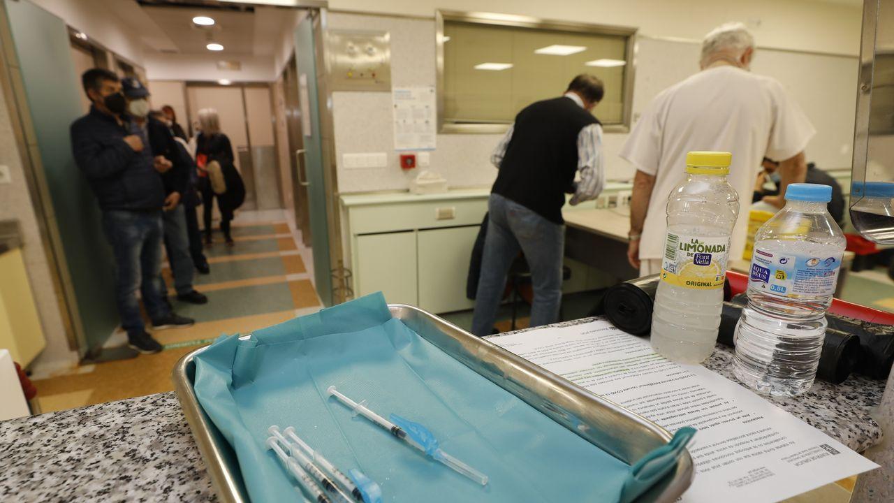 Campaña de vacunación esta semana en el hospital mariñano