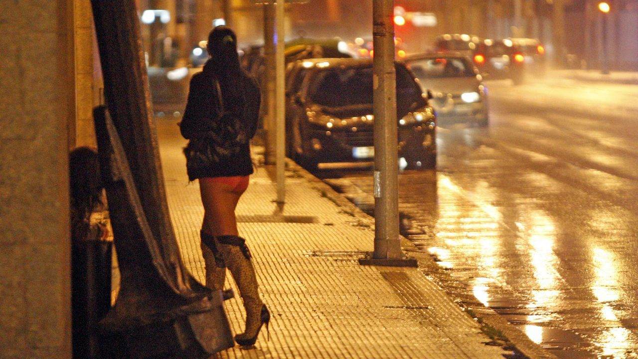 Prostitución callejera en Vigo en una imagen de archivo