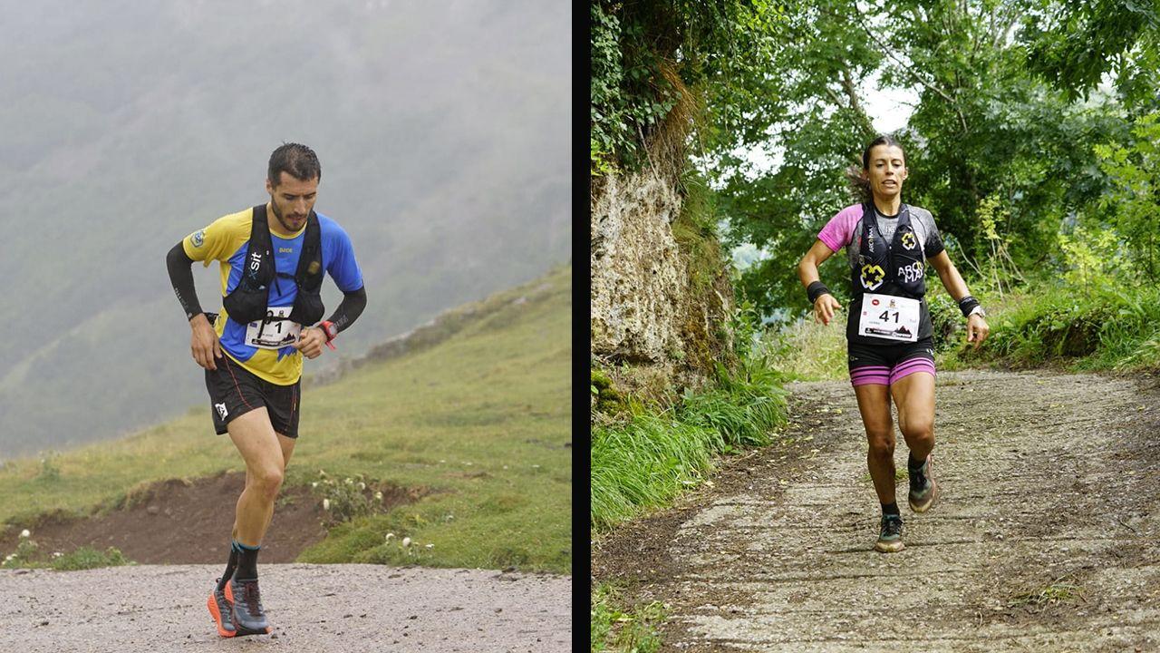 Juanjo Somohano y Gemman Arenas en Somiedo