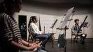 En Celanova, ensayan cuartetos o quintetos en el auditorio municipal por secciones