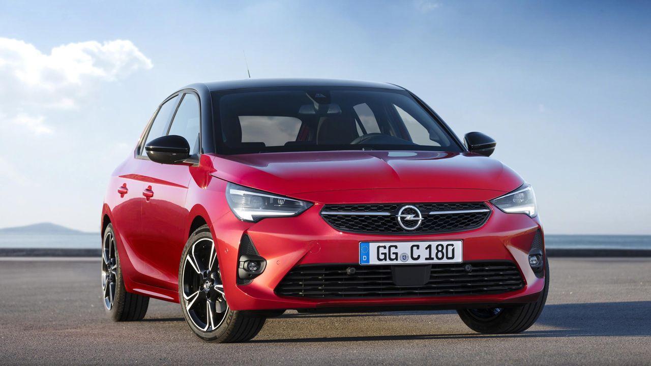 Modelo de la sexta generación del Opel Corsa