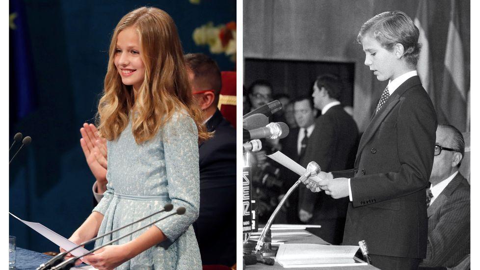 Entrega de los Premios Princesa de Asturias.Los reyes Felipe y Letizia a su llegada al tradicional concierto de los Premios Princesa de Asturias, en una foto de archivo.