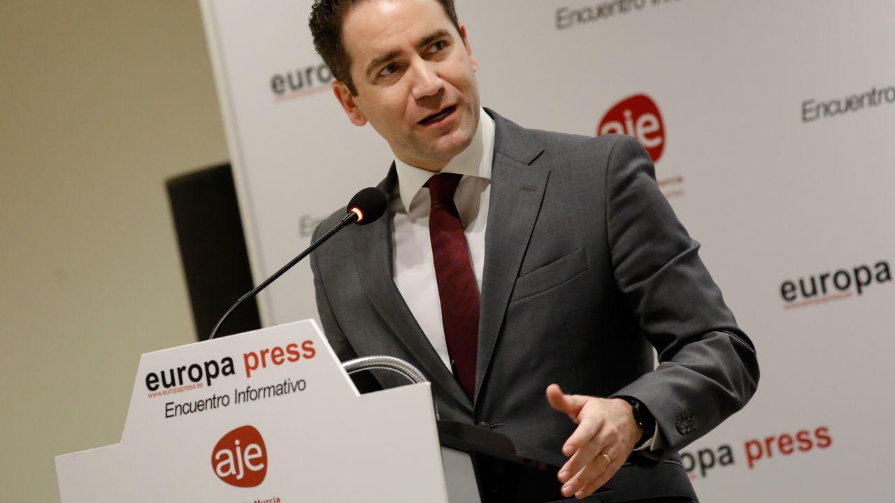 El secretario general del PP, Teodoro García Egea,