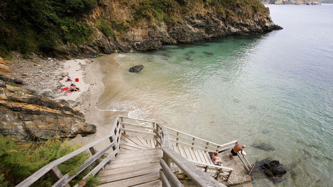 Paraísos de arena y aguas cristalinas en la comarca de Ferrol