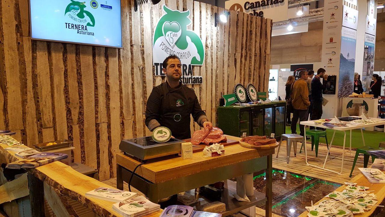 Salón de Gourmets ternera asturiana.Pablo González