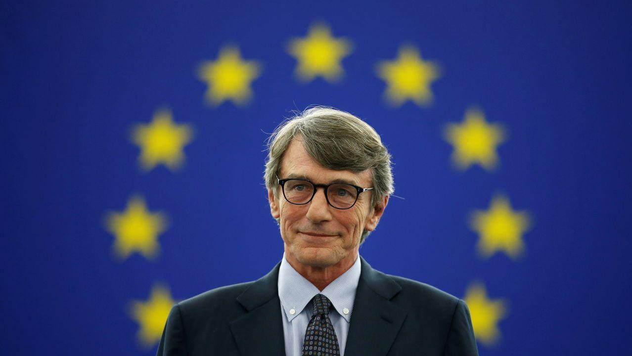 El socialdemócrata italiano David-Maria Sassoli ha sido elegido nuevo presidente del Parlamento Europeo