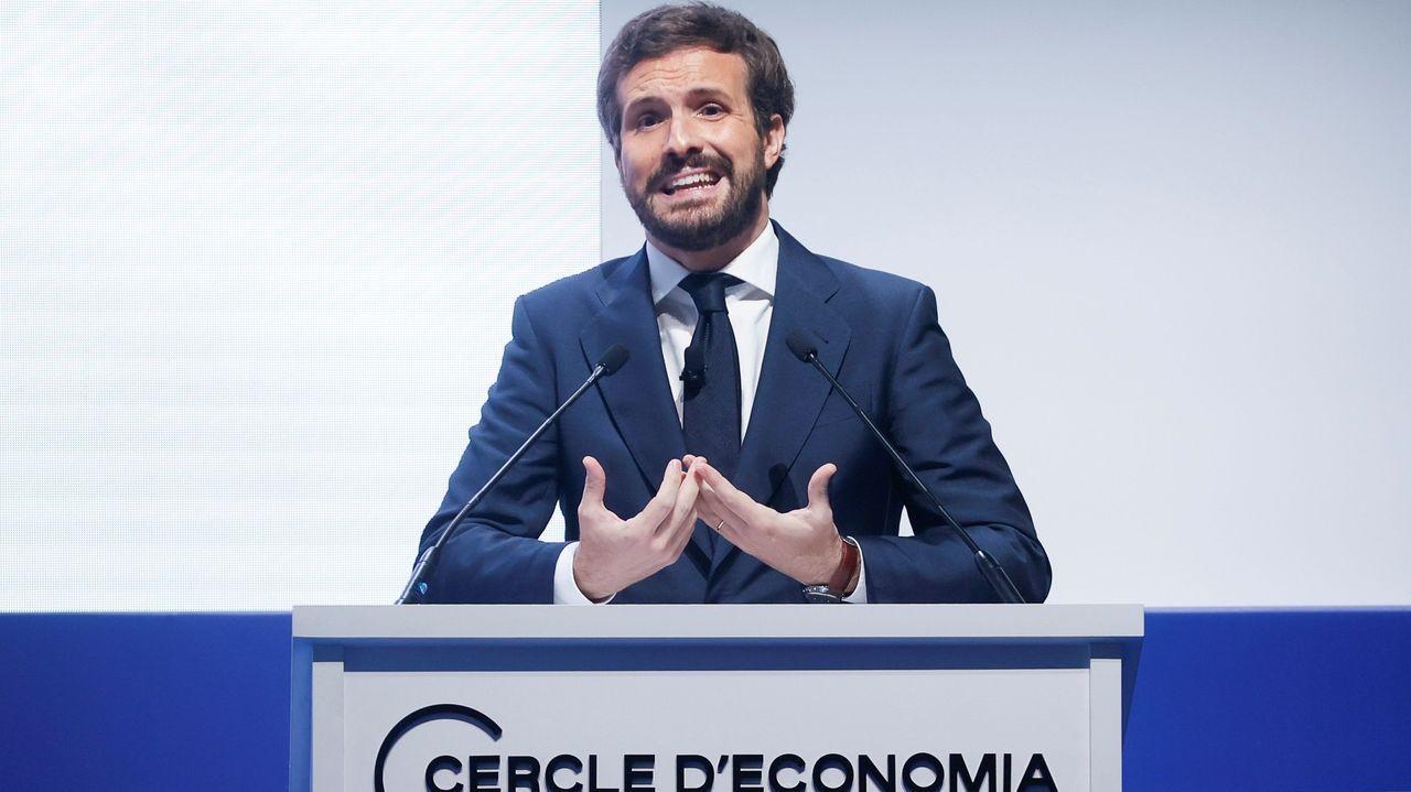 Pedro Sánchez, antes de reunirse con el presidente de Andalucía, Juan Manuel Moreno Bonilla