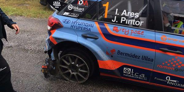 Las mejores imágenes del Rali de Ourense.Alonso y Gené durante la etapa del piloto asturiano en Ferrari, en 2011